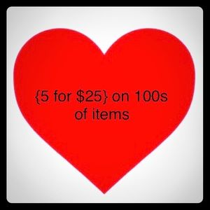 Jewelry - {5 for $25} on 100s of items!!!